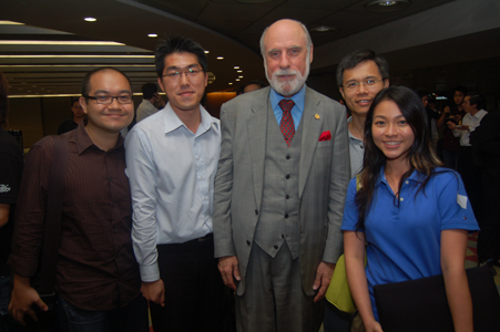 vinton cerf and my colleagues