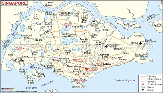 Singaporemap Young Upstarts - Singapore map