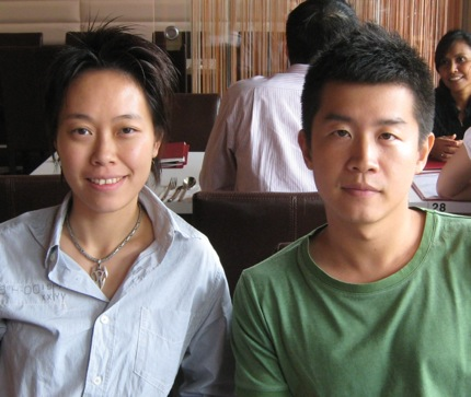 Phlook co-founders Justine (Left) and Wee Kiat.