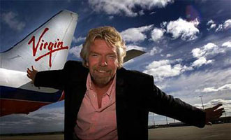 Sir Richard Branson will be The Perfect Pitch 2009's keynote speaker (and poster boy).