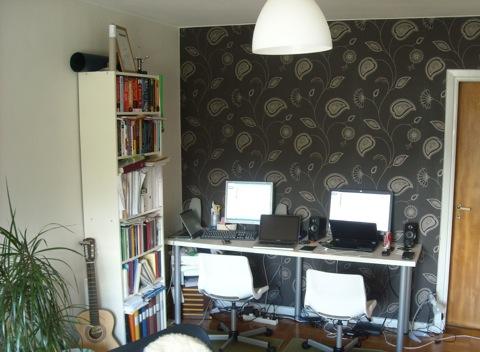 Martin's living room.