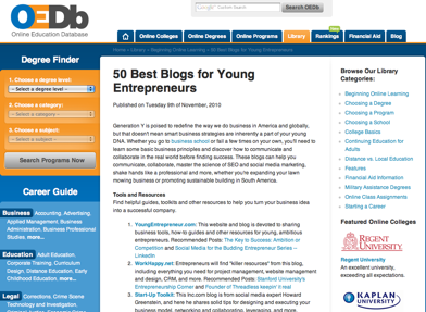 50 best blogs for young entrepreneurs | young upstarts, Skeleton