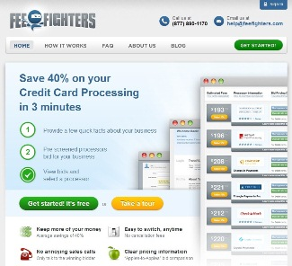 Feefighters helps small businesses save on credit card for Business credit card processing