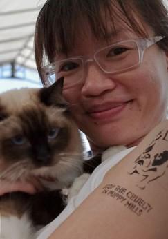 Ms. Veron Lau, Vice President of Cat Welfare Society