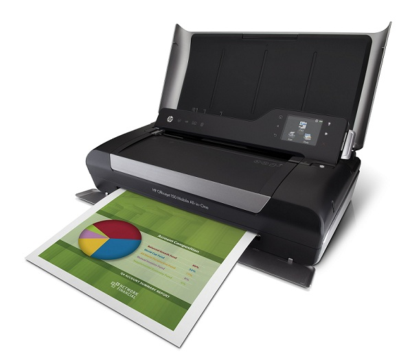 HP Officejet 150 Mobile AIO Printer Lets You Print On-The ...