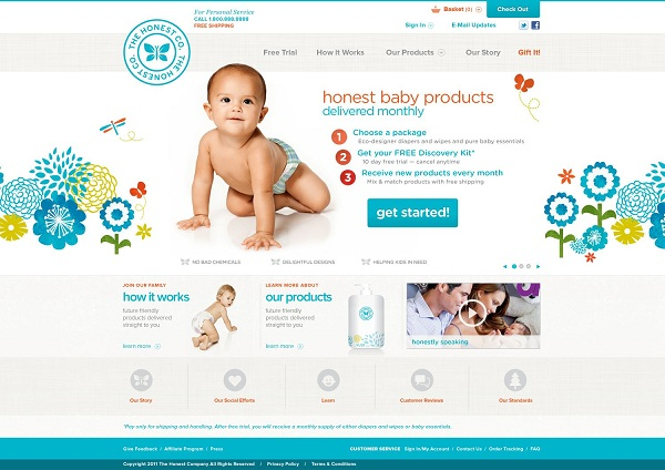 The Honest Company Brings Baby Products By Subscription ...