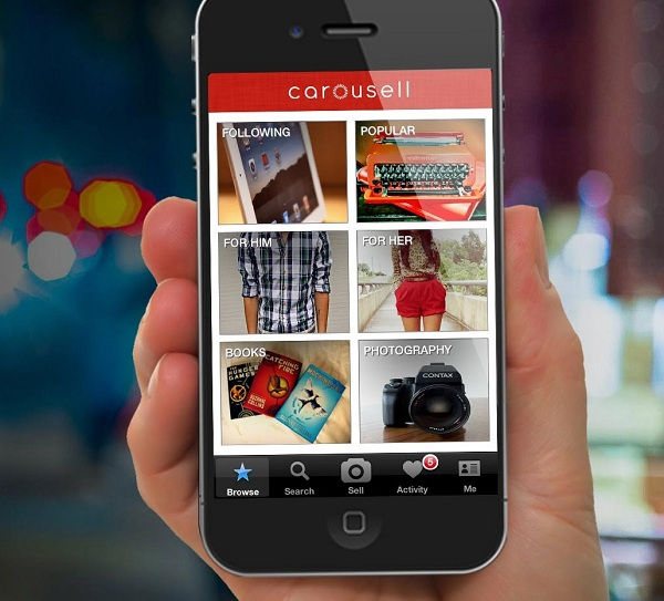 Carousell screenshot