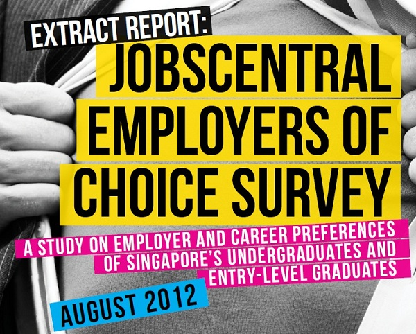 JobsCentral Employers of Choice survey 2012