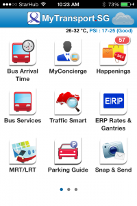 Sponsored Mytransport Sg A One Stop Source For Commuting Info In