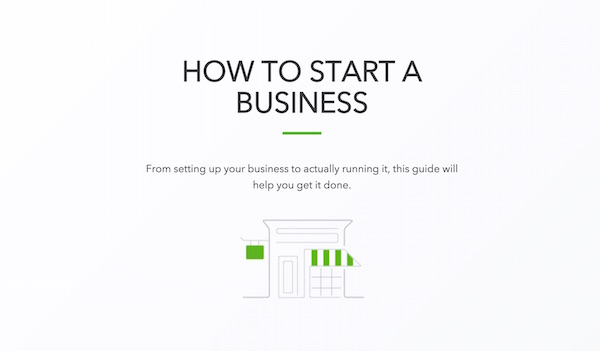 intuit how to start a new business