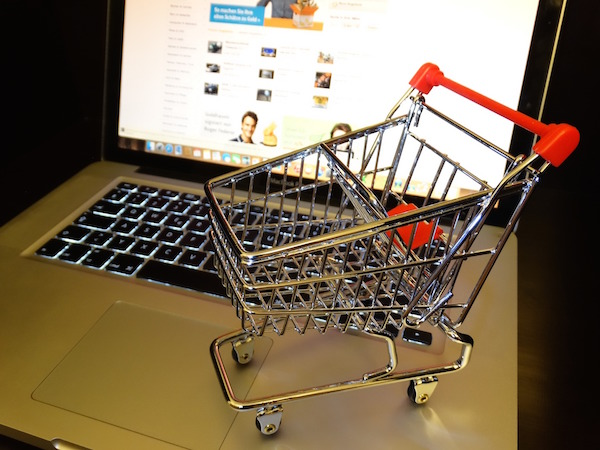 laptop online shopping cart