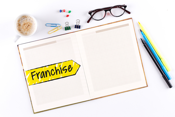 franchise notebook shutterstock