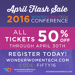Wonder Women Tech Conference 2016