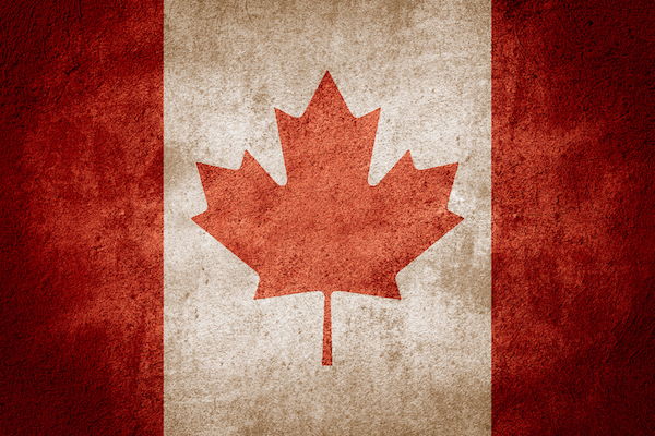 canada flag shutterstock