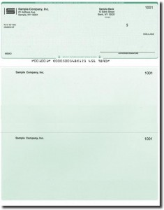 Free cheque book printing software