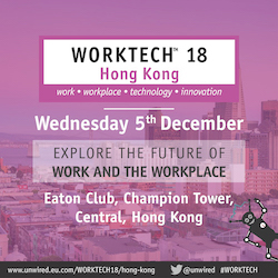 WORKTECH18 Hong Kong