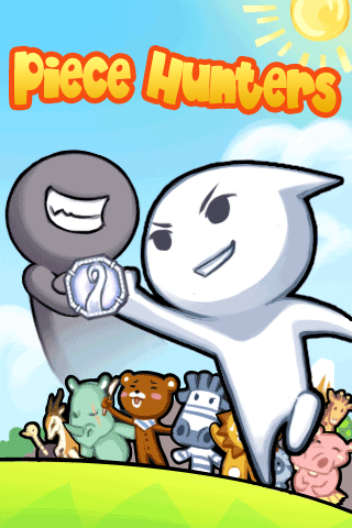 Piecehunters, an iPhone game developed by AzukiSoft.
