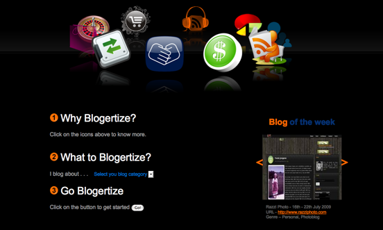 Some of the various services offered by Blogertizeworld.