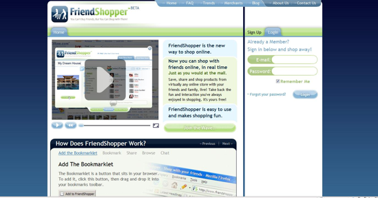 FriendShopper.com.