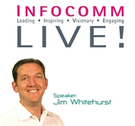 Hear from President and CEO of Red Hat Inc Jim Whitehurst at Infocomm Live!