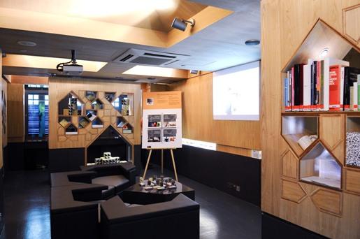 Interior of DFE Centre