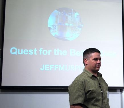 Jeff Murphy of The Pump Room.