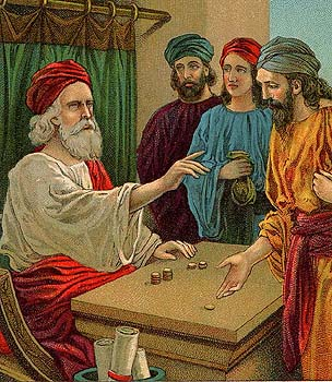 Parable of the ten talents - A question of grasping opportunities presented to you?