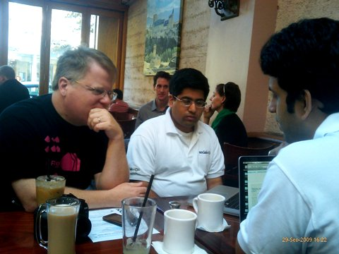 SocialWok with renowned Silicon Valley tech blogger Robert Scoble of scobleizer.com.