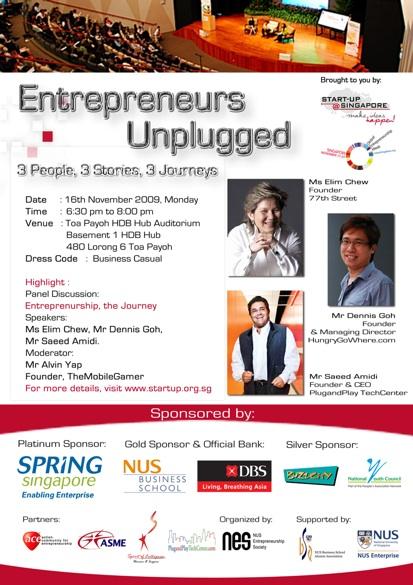 Entrepreneurs Unplugged
