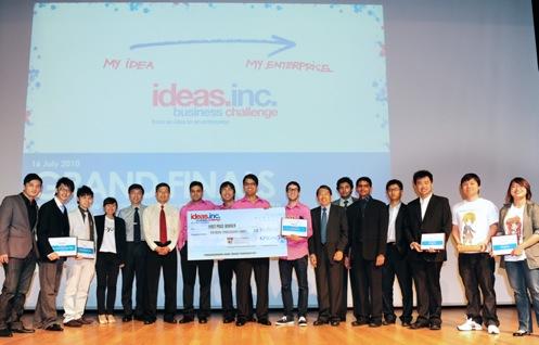 idea inc winners