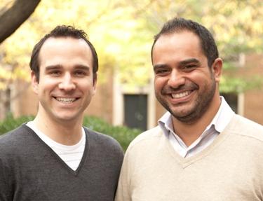 Kembrel founders Stephan Jacob (left) and Cherif Habib.