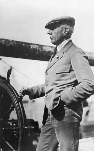 Norwegian explorer Roald Amundsen.