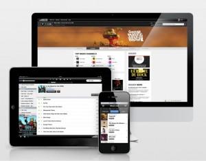 Deezer screenshot