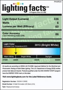 light facts