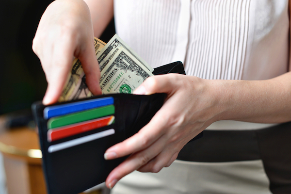 wallet cash card