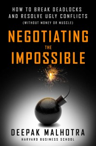 negotiating the impossible book
