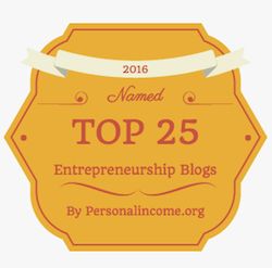 Top 25 Entrepreneur Blogs in 2016 by PersonalIncome.org