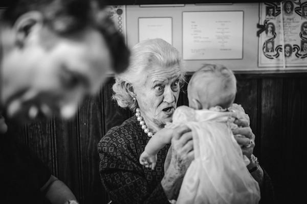 wedding photography baby grandmother