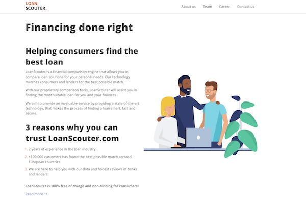 LoanScouter – Easier To Loan Money For Your Business